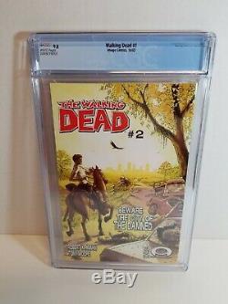 2003 Image Comics The Walking Dead #1 Graded CGC 9.8 Nice Fresh Grade