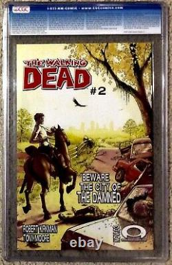 2003 The Walking Dead #1 BLACK MATURE RETIRED LABEL CGC 9.8 Est 2,000 Prints
