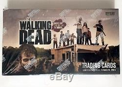 2012 Cryptozoic Walking Dead Trading cards Season 2 sealed 24 pack hobby box