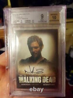 2012 The Walking Dead Season 2 #A5 Norman Reedus Auto