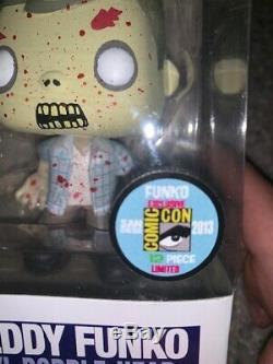 2013 Freddy Funko Pop The Walking Dead Bloody Rv Walker Super Rare Only 12 Made