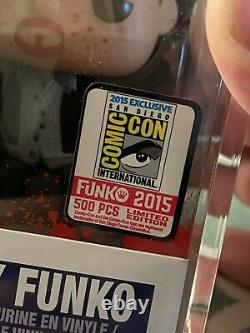 2015 SDCC Funko Pop Freddy Funko #32 as Daryl Dixon Bloody LE 500 pcs Vaulted