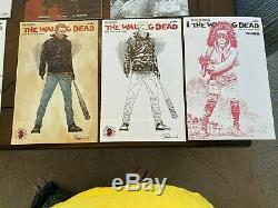 21 The Walking Dead Key Issues/Variants/Comic con Exclusives Covers in one lot