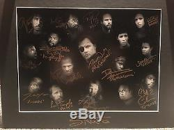 29 Autographs on Limited Edition Artwork (1 of 20) for The Walking Dead