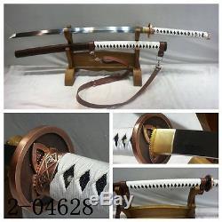 41inch Walking Dead Samurai Sword-Michonne's Katana 1095 Steel Battle Ready#076