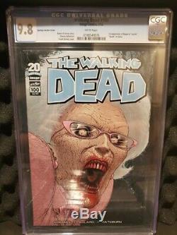 (8) Walking Dead #100 Variations 1st Negan & Lucille Death of Glenn CGC 9.8