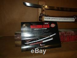 AMC/Walking dead/Michonne katana/Sword/Licensed/3rd production/Kit Rae/NEW