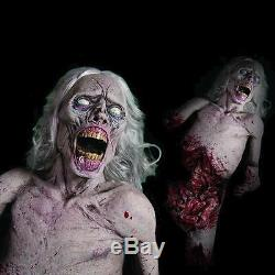 ANIMATED ZOMBIE The Walking Dead Haunted House Prop Halloween Decoration