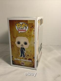 Alpha (unmasked) 892 Pop The Walking Dead Supply Drop Exclusive With Protector