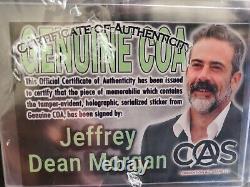 Autographed Lucille Bat The Walking Dead Negan Jeffrey Dean Morgan Authentic