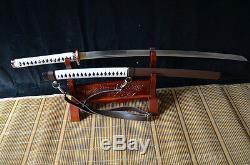 Battle Ready Japan Ninja Sect Shrine Samurai Walking Dead Sword Katana Sharp #17