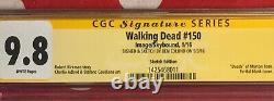 Ben Edlund Original Art Sketch The Tick, Walking Dead #150 CGC SS 9.8 Zombie