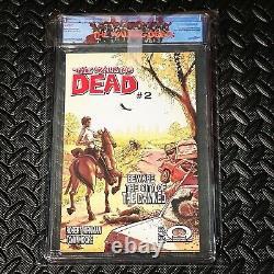 Black Label Walking Dead #1 Cgc 9.8
