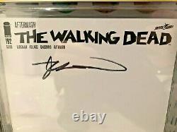 CGC 9.4 Walking Dead 192 BLANK VARIANT signed by ROBERT KIRKMAN