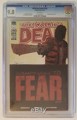 CGC 9.8 SET Walking Dead 97-102 Something To Fear First Print Lot First Negan