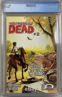 CGC 9.8 WALKING DEAD #1 1st App Rick Grimes Image Comics 2003