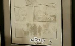 Charlie Adlard Walking Dead Issue 117 Page 11 Original Art Used Comics with Shiva
