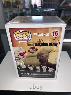 FUNKO POP! THE WALKING DEAD RV WALKER #15 BLOODY GEMINI EXCLUSIVE Limited 1000