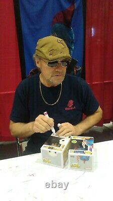Funko POP! The Walking Dead Merle Blood Splattered Figure Michael Rooker SIGNED
