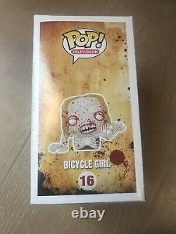 Funko POP The Walking Dead Previews Exclusive Bloody Bicycle Girl