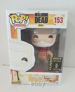 Funko Pop 2014 Sdcc The Walking Dead Headless Hershel Greene 153