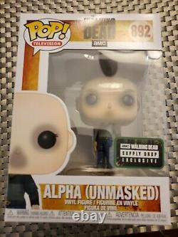Funko Pop! The Walking Dead Alpha (unmasked) #892 Supply Drop Exclusive