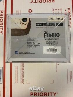 Funko Pop The Walking Dead Rick Grimes Prison Yard #67 Rare Bloody