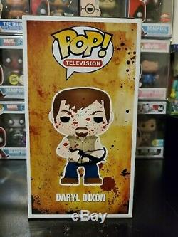 Funko Pop! Walking Dead Giant 9 Inch Bloody Daryl Dixon Gemini Exclusive 300 PC