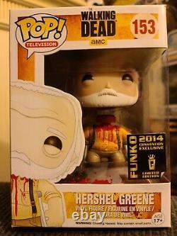 Funko Pop! Walking Dead Hershel Greene (headless) #153. Hot Topic Exclusive