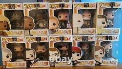Funko Pop-Walking Dead LOT of 10 All VAULTED/RETIRED RARE