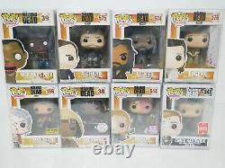Funko Pop Walking Dead Lot Of (30) Bloody Daryl, Michonne, Shiva. WithPROTECTORS