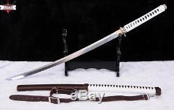 Handmade Japanese Walking Dead Sword-Michonne's Katana Zombie Killer Sharp