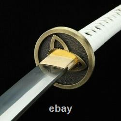 Handmade Walking Dead Michonne Katana Real Japanese Samurai Swords Sharp Blade