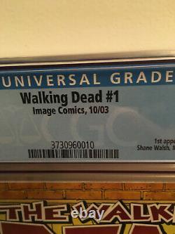 IMAGE COMICS WALKING DEAD #1 CGC 9.9 NOT 9.8 1st RICK GRIMES ULTRA RARE