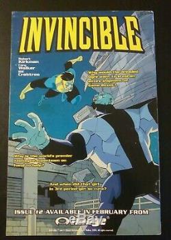 INVINCIBLE #1 Image Comics Kirkman creator of The Walking Dead, Oblivion Song