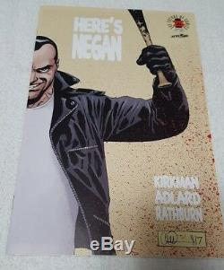 Image Comics 25th THE WALKING DEAD HERE'S NEGAN 1 Variant Cover Limited