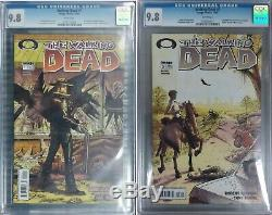 Image THE WALKING DEAD #1 and #2 both CGC 9.8 First Printings! Free Shipping