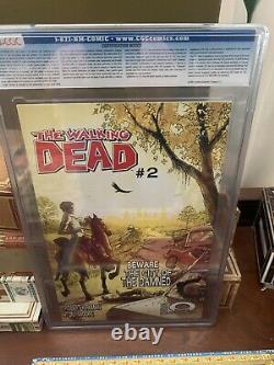 Image The Walking Dead #1 CGC 9.4 Hot Comic 1st Rick Grimes. TWD Kirkman