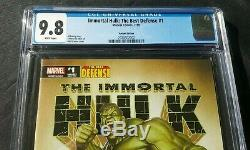 Immortal Hulk 1 9.8 Cgc Variant150 Adi Granov Best Defense 2 0 1 9 Incredible