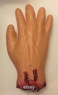 JSA COA SIGNED! Walking Dead Merle Cosplay Knife & Hand Prop Replica-M. Rooker