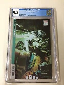 Marvel Comics Presents #4 CGC 9.8 NM/M Bill Sienkiewicz (150) Variant L@@K