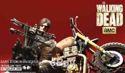 McFarlane Walking Dead Daryl Dixon Statue Reedus, Zombie, Rick Grimes, Zombie