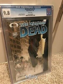 Merry Christmas! The Walking Dead #4 CGC 9.8