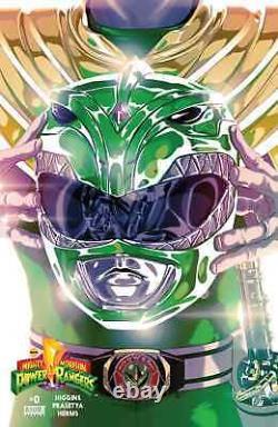 Mighty Morphin Power Rangers #0 Green Ranger Helmet Variant 150 Montes Not Foil