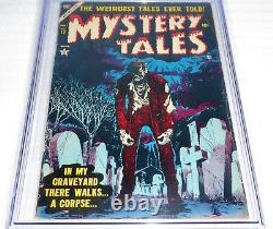 Mystery Tales #19 CGC Universal Grade 5.5 Classic Walking Dead Atlas Comics 7/56