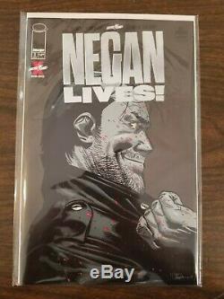 NEGAN LIVES #1 LOT Image WALKING DEAD GOLD x 1 SILVER x 2 COVER A x 10