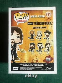 NORMAN REEDUS as DARYL DIXON Signed FUNKO POP #391 THE WALKING DEAD RED