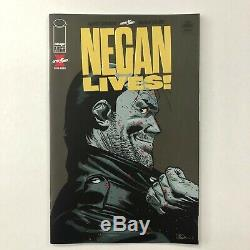 Negan Lives! #1 GOLD FOIL 1 Per Store Variant Walking Dead Kirkman Image Rare