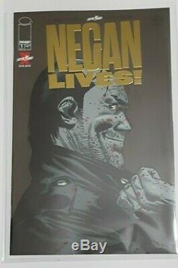 Negan Lives #1 Gold Foil Variant Cover Image Comics 2020