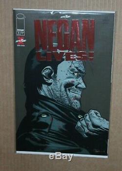 Negan Lives 1 Red Foil Variant Cover Skybound Image Comics Walking Dead Kirkman